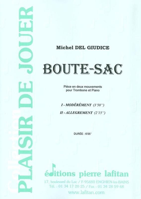 Michel Del Giudice - Boute-Sac - Partition - di-arezzo.com