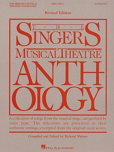 - The Singer's Musical Theater Anthology Volume 1 - Soprano - Partition - di-arezzo.co.uk