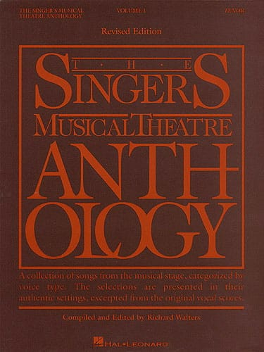 The Singer's Musical Theatre Anthology Volume 1 - Tenor - laflutedepan.com