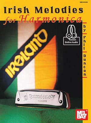 Irish Melodies For Harmonica - Phil Duncan - laflutedepan.com