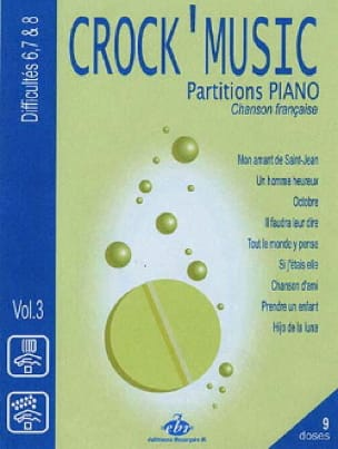 - Crock 'music volume 3 - Partition - di-arezzo.co.uk