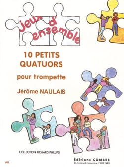 Jérôme Naulais - 10 Small Quartets - Partition - di-arezzo.co.uk