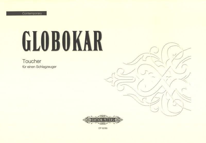 Toucher - Vinko Globokar - Partition - laflutedepan.com