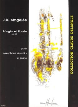 Jean-Baptiste Singelée - Adagio y Rondo Opus 63 - Partition - di-arezzo.es