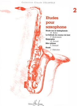 - Studies for Saxophone Volume 2 - Partition - di-arezzo.co.uk
