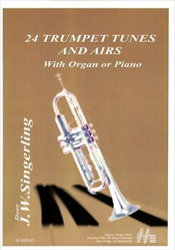 24 Trumpet Tunes And Airs - Partition - laflutedepan.com
