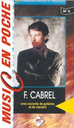 Music en poche N° 6 - Françis Cabrel - Partition - laflutedepan.com