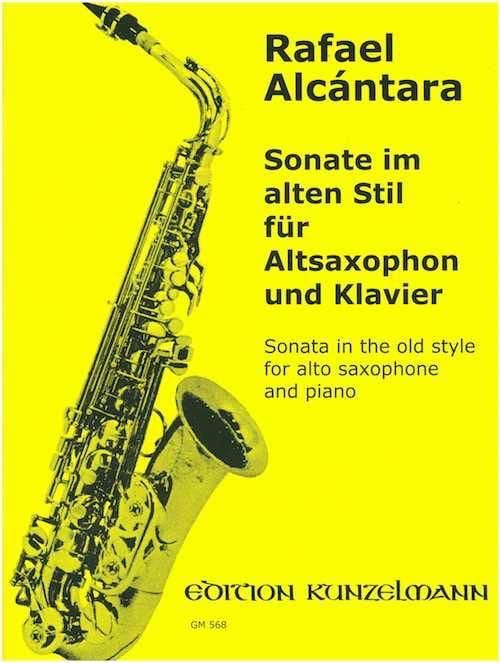 Sonate Im Alten Stil - Rafael Alcantara - Partition - laflutedepan.com