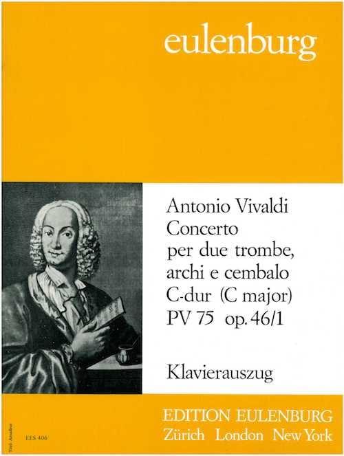 VIVALDI - Concerto Opus 46/1 Pinch. N° 75 - Partition - di-arezzo.fr