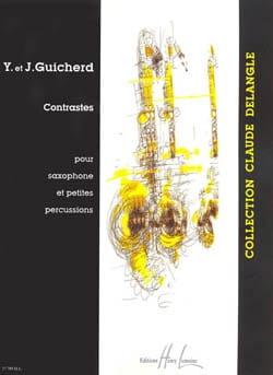 Contrastes - Y. Et J. Guicherd - Partition - laflutedepan.com