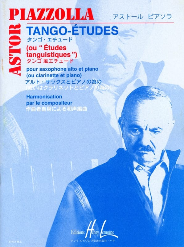 Astor Piazzolla - Tango studies - Partition - di-arezzo.co.uk