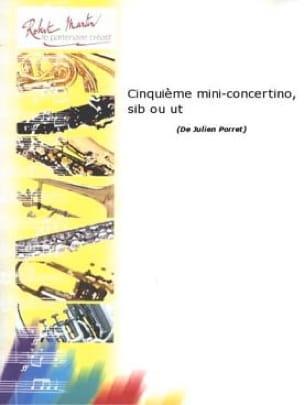 Julien Porret - 5th Mini-Concertino - Partition - di-arezzo.co.uk