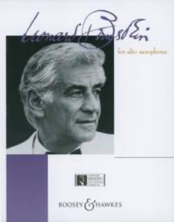 Leonard Bernstein - Bernstein For Alto Saxophone - Partition - di-arezzo.fr