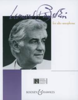 Leonard Bernstein - Bernstein For Alto Saxophone - Partition - di-arezzo.com
