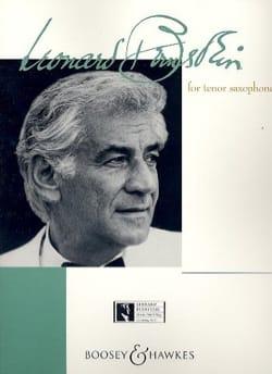 Bernstein For Tenor Saxophone - BERNSTEIN - laflutedepan.com