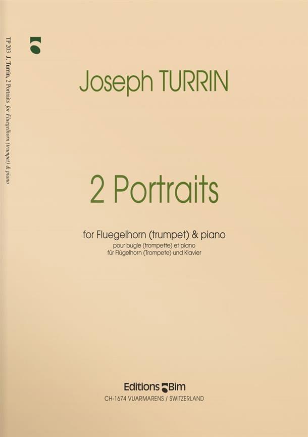 2 Portraits - Joseph Turrin - Partition - Trompette - laflutedepan.com