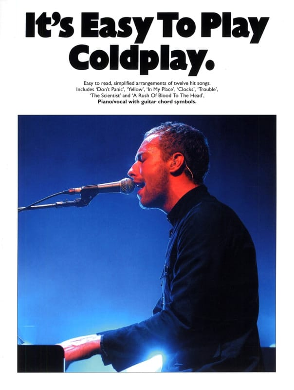 Coldplay - It's easy to play Coldplay - Partition - di-arezzo.co.uk