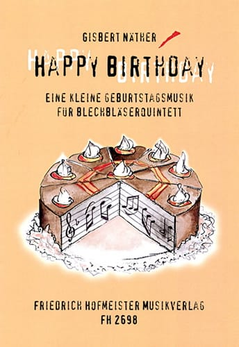 Happy Birthday - Partition - laflutedepan.com