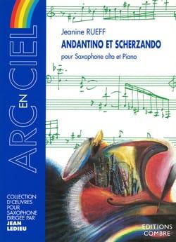 Jeanine Rueff - Andantino And Scherzando - Partition - di-arezzo.com