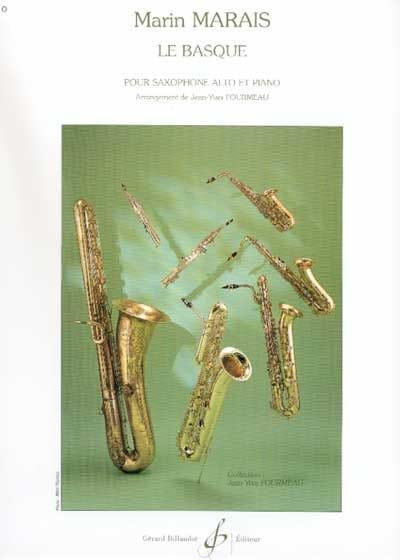 Le Basque - Marin Marais - Partition - Saxophone - laflutedepan.com