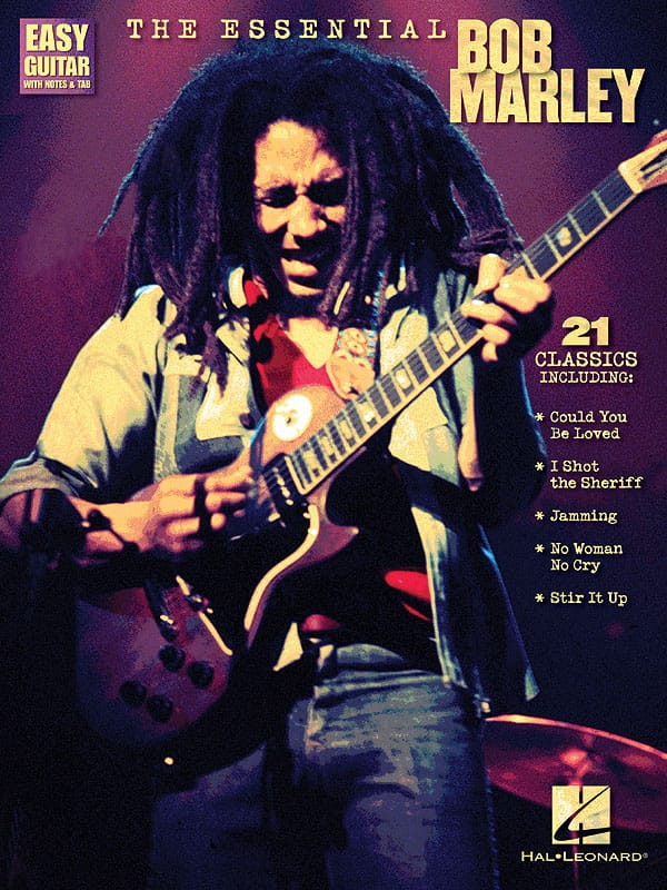 Bob Marley - The Essential B. Marley - Easy Guitar - Partition - di-arezzo.co.uk