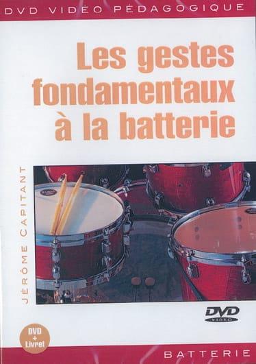 DVD - Les Gestes Fondamentaux A la Batterie - laflutedepan.com