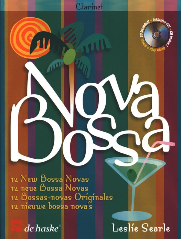 Nova Bossa - Leslie Searle - Partition - Clarinette - laflutedepan.com