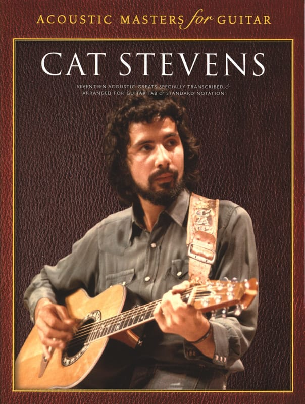 Cat Stevens - Acoustic Masters For Guitar - Partition - di-arezzo.co.uk