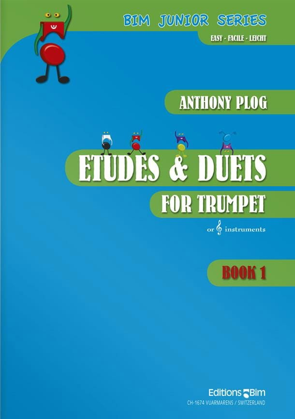 Anthony Plog - Studies - Duets Book 1 - Level 1-2 - Partition - di-arezzo.co.uk