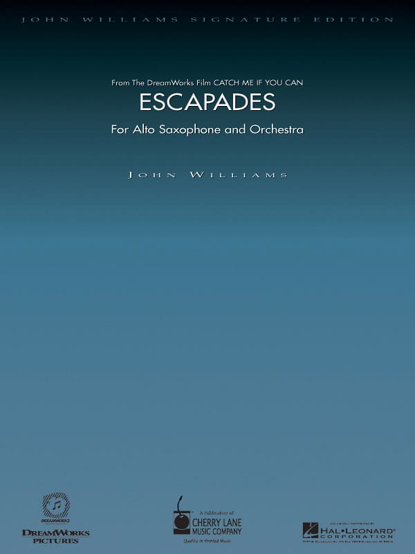 Escapades - Catch Me If You Can - John Williams - laflutedepan.com