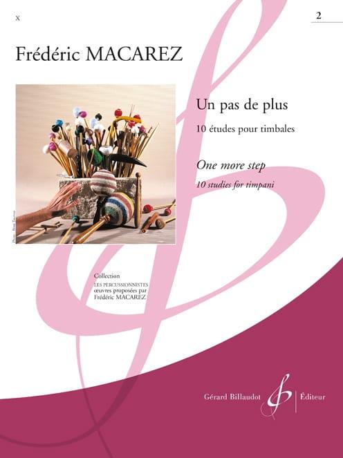 Frédéric Macarez - A Step Up Volume 2 - 10 Studies - Partition - di-arezzo.com