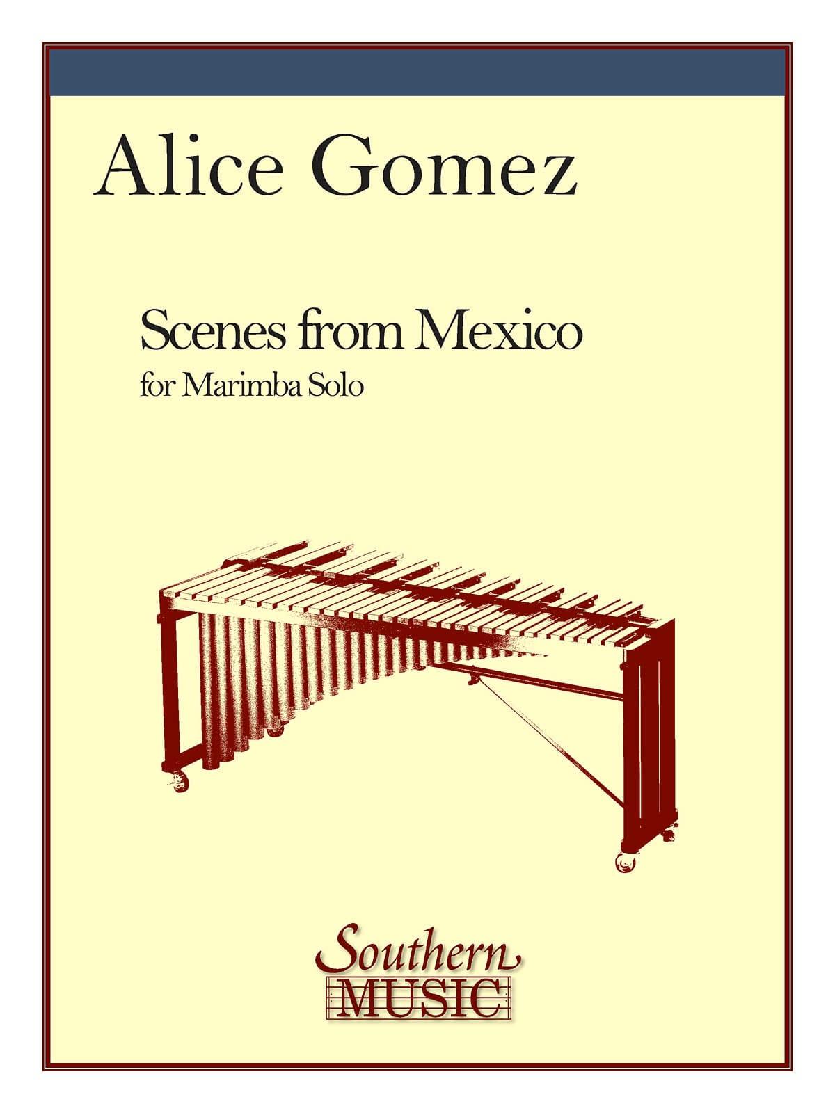 Alice Gomez - Scenes From Mexico - Partition - di-arezzo.co.uk
