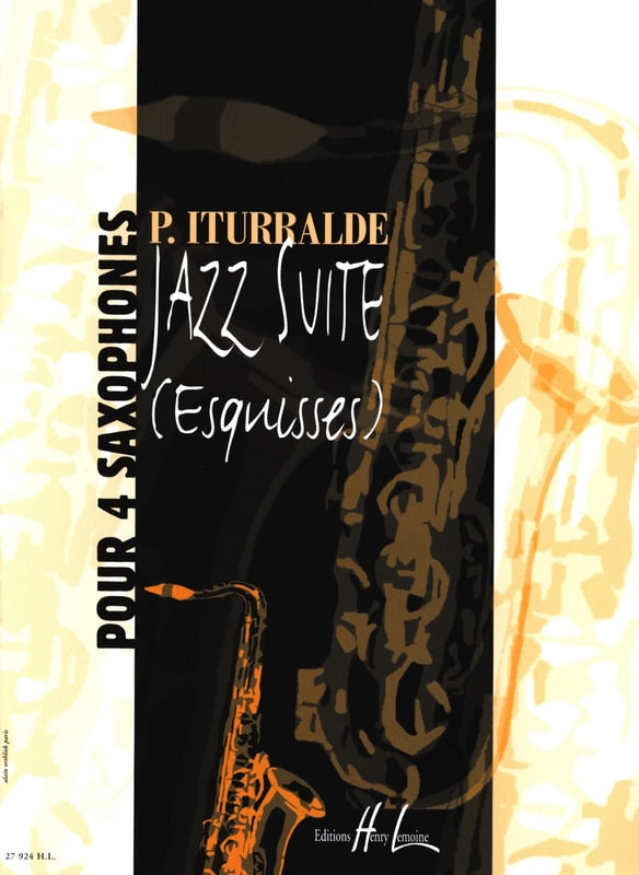 Pedro Iturralde - Jazz Suite Sketches - Partition - di-arezzo.co.uk