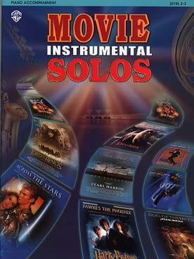 Movie instrumental solos - Partition - Piano - laflutedepan.com