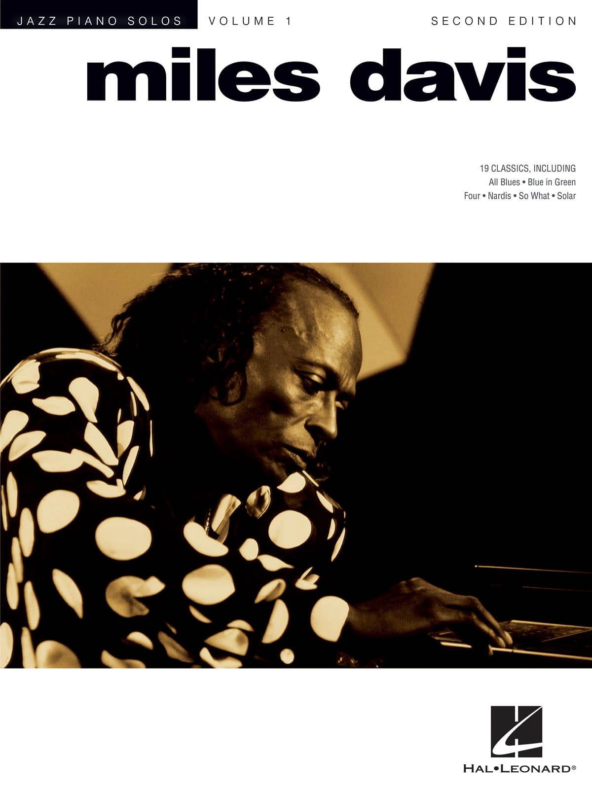 Miles Davis - Solos Jazz Piano - Miles Davis - Partition - di-arezzo.co.uk