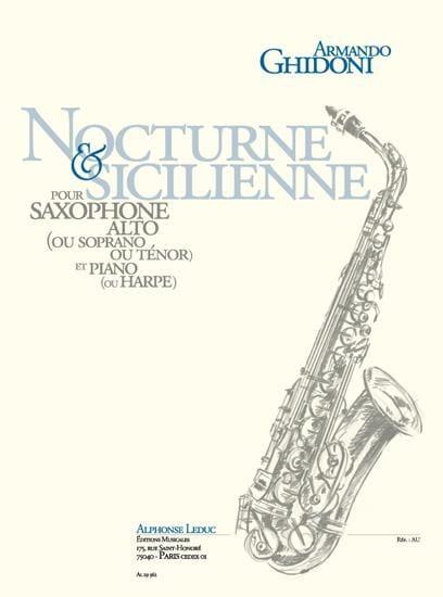 Nocturne & Sicilienne - Armando Ghidoni - Partition - laflutedepan.com
