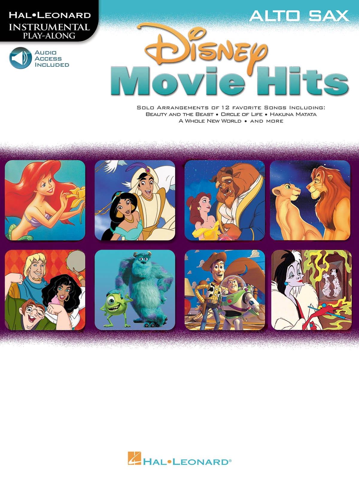 Disney Movie Hits - DISNEY - Partition - Saxophone - laflutedepan.com