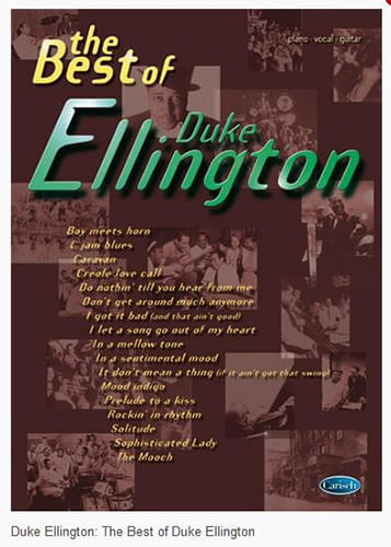 Duke Ellington - Lo mejor de Duke Ellington - Partition - di-arezzo.es