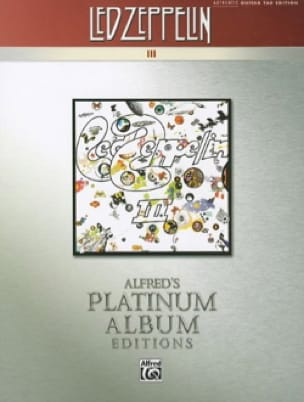 Led Zeppelin - Album 3 - Platinum Guitar - Partition - di-arezzo.co.uk