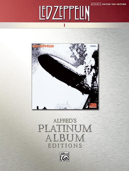 Led Zeppelin - Album 1 - Platinum Album Edition - Partition - di-arezzo.co.uk