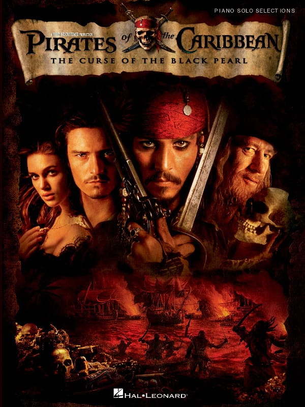 Klaus Badelt - Pirates of the Caribbean 1 - The Curse of the Black Pearl - Partition - di-arezzo.com