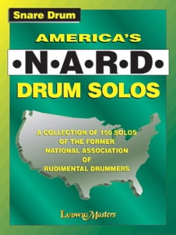 - America's NARD Drum Solos - Partition - di-arezzo.co.uk
