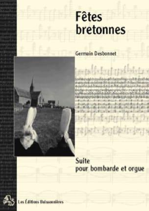 Fêtes Bretonnes - Germain Desbonnet - Partition - laflutedepan.com