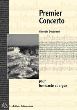 Germain Desbonnet - First Concerto - Partition - di-arezzo.co.uk