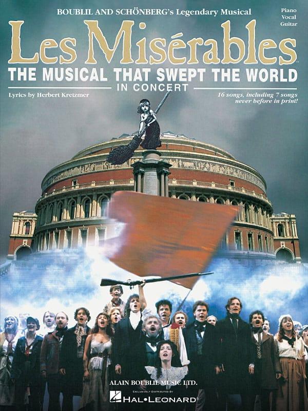 Claude Michel Schönberg - Les Miserables - In Concert - Partition - di-arezzo.co.uk