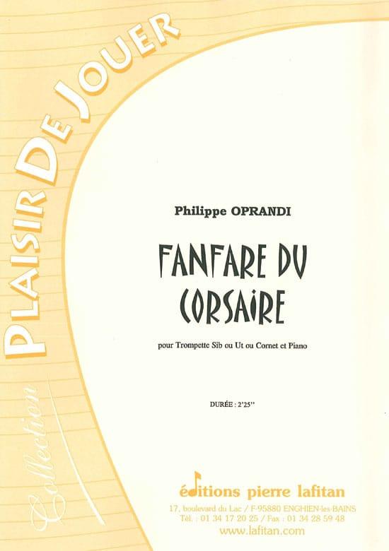 Philippe Oprandi - Fanfare of the Corsaire - Partition - di-arezzo.com