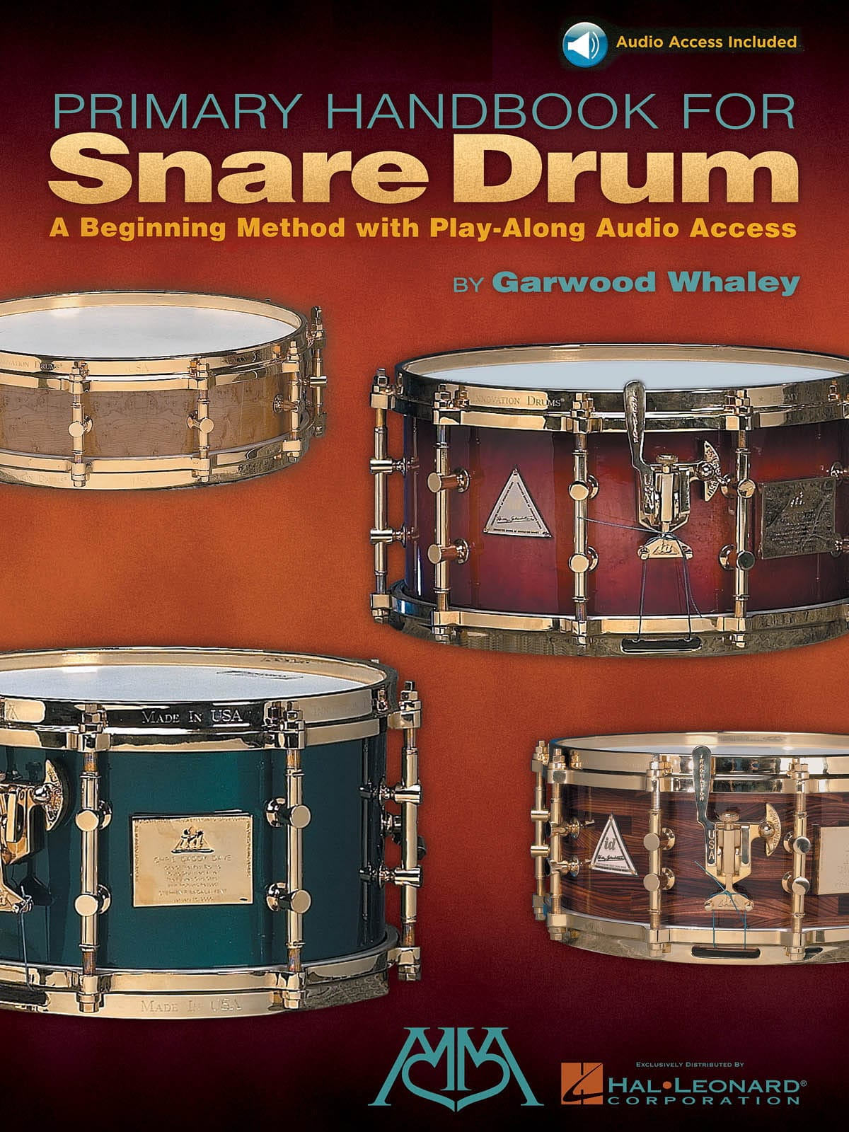 Garwood Whaley - Primary Handbook For Snare Drum - Partition - di-arezzo.co.uk