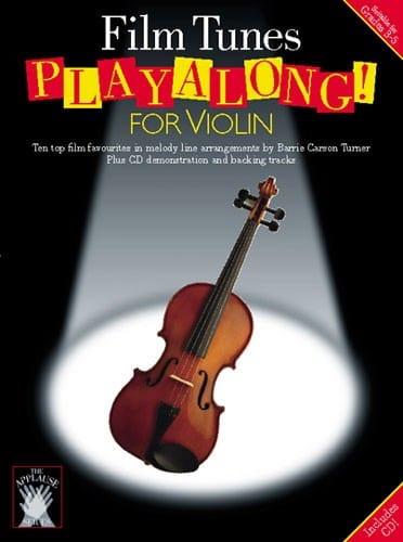 Film Tunes Playalong For Violon - Partition - laflutedepan.com