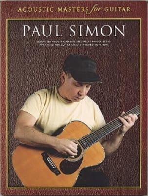 Acoustic Masters For Guitar - Paul Simon - laflutedepan.com
