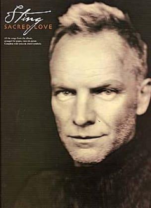 Sting - Sacred Love - Partition - di-arezzo.co.uk